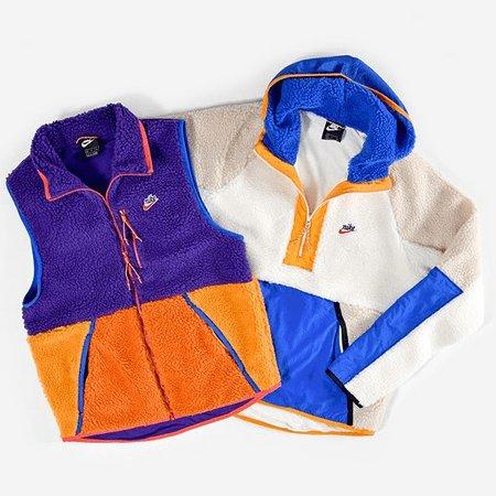 Vestes polaire vintage - Nike