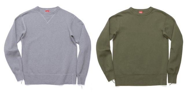 Couleurs de sweatshirt pour homme - Gris et kaki