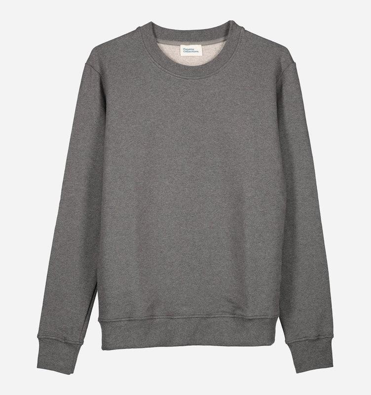 Sweatshirt gris foncé pour homme - Marque Paname Collection