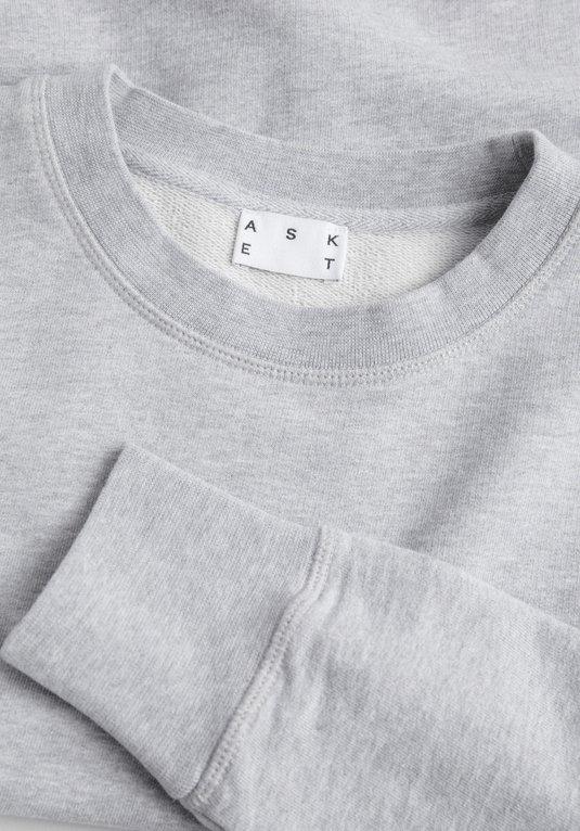 Sweatshirt gris pour homme - Marque Asket