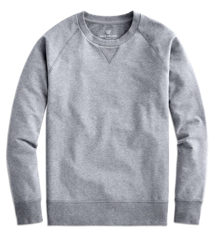 Sweatshirt gris homme - Marque Mack Weldon