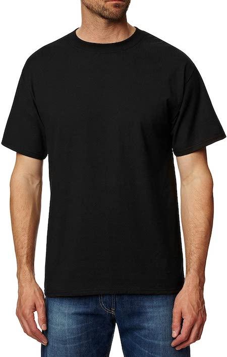 T-shirt tubulaire noir