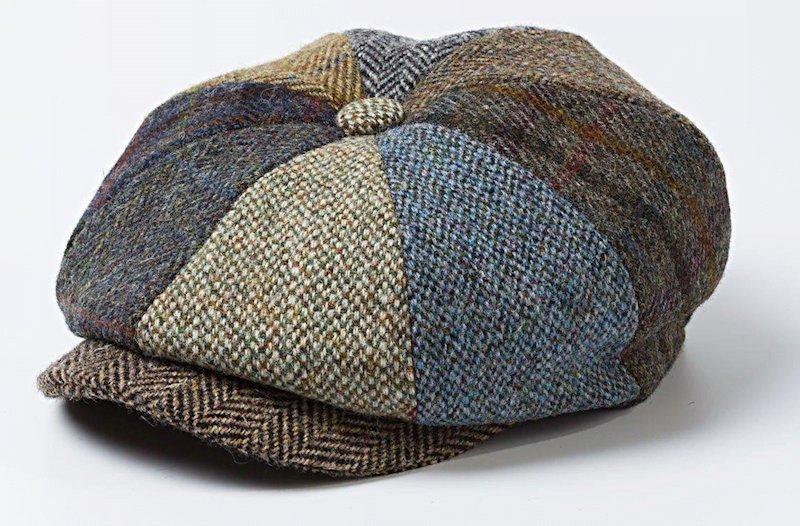 La casquette irlandaise avc patchwork