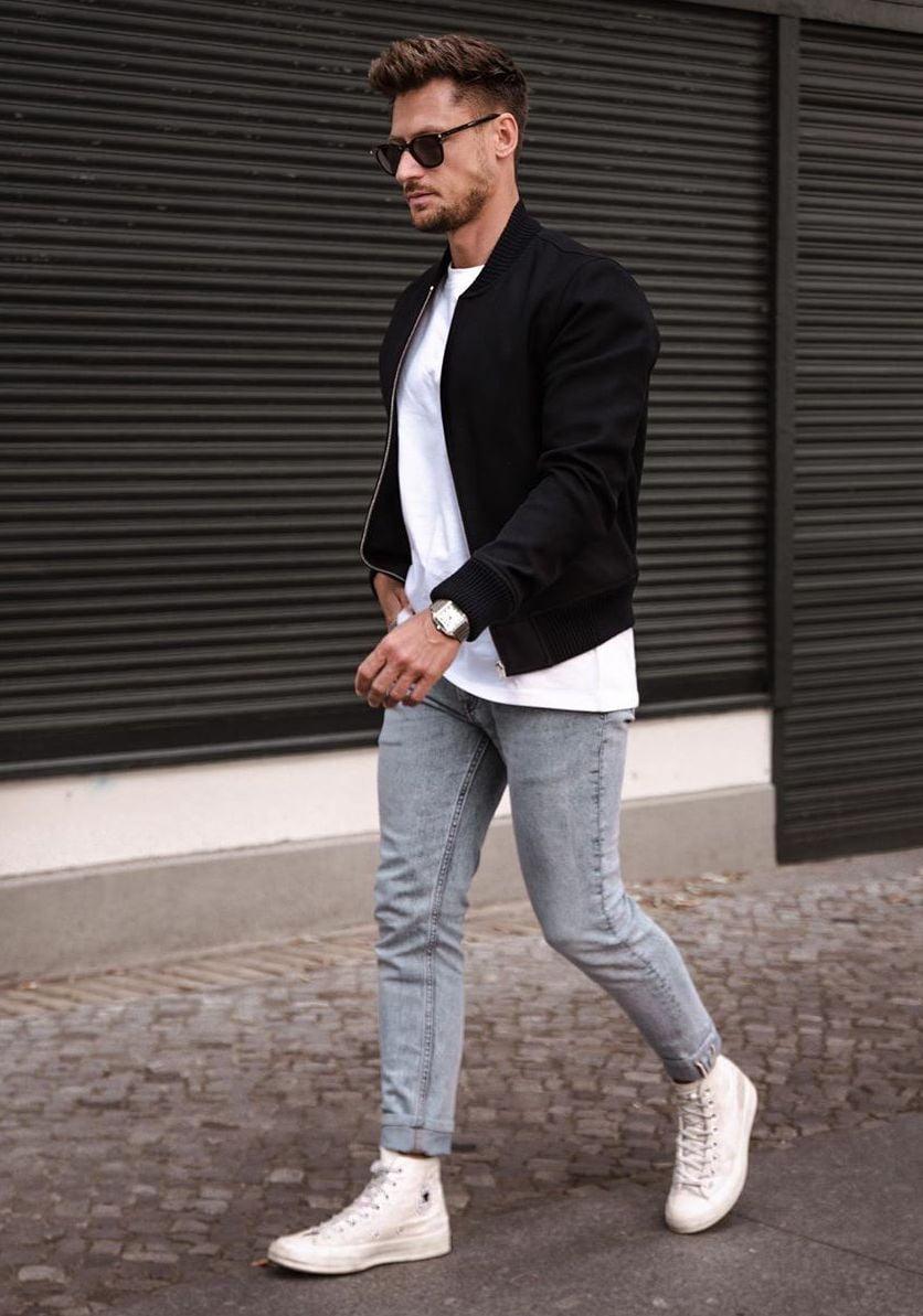 Style de T-shirt oversize pour homme