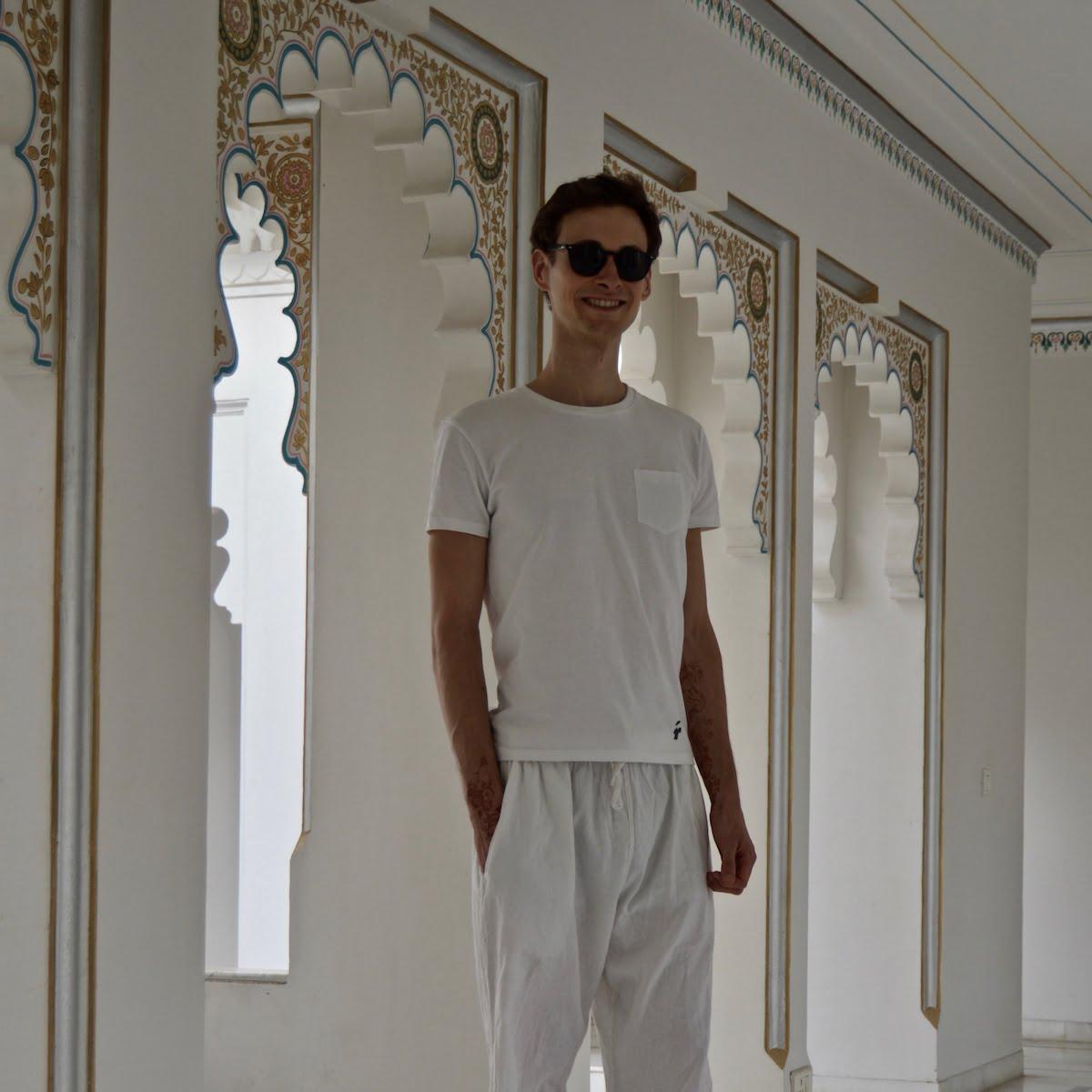 T-shirt poche pour homme - GoudronBlanc