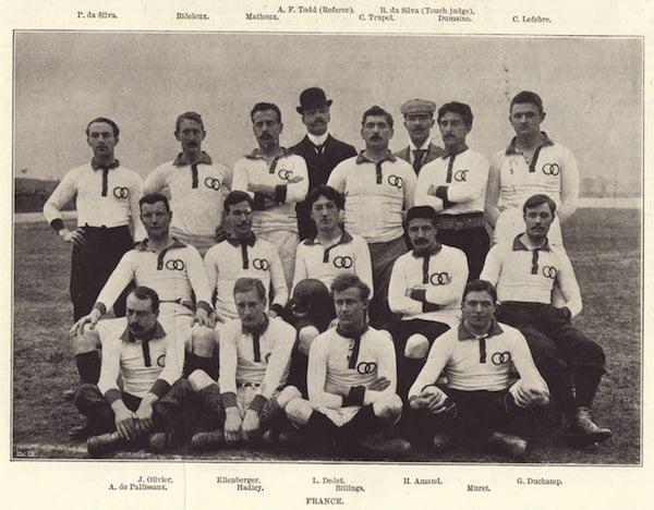 Maillot de rugby de l'équipe de France - Début du XXème siècle (années 1900)