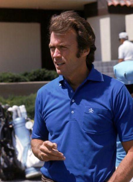 Polo bleu - Original Penguin - Clint Eastwood