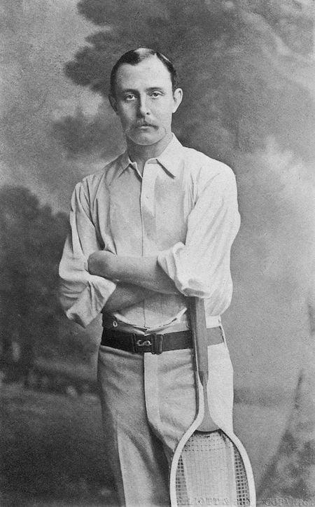 Vêtements de tennis pour homme - Ernest Renshaw