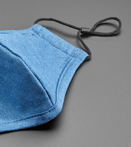 Masque en tissu avec élastiques ajustables