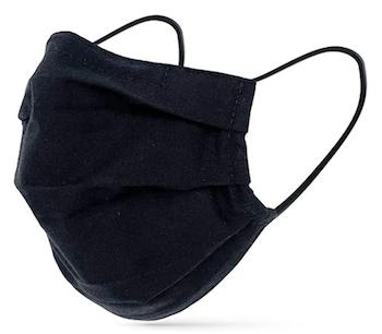 Masque en tissu noir