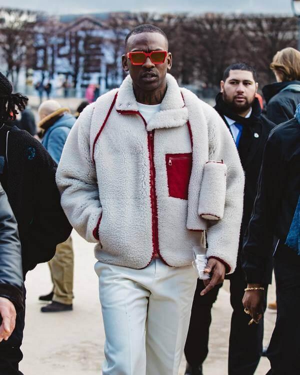 Veste polaire homme - Style streetwear