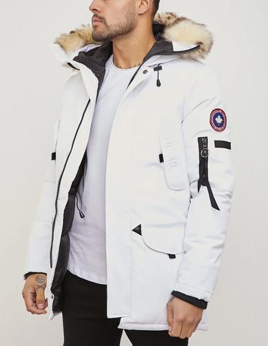 Doudoune Canada goose blanche pour homme