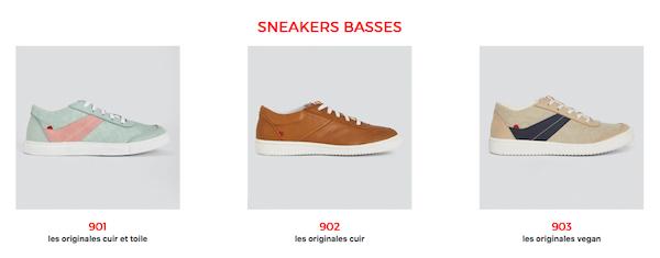 Sneakers pour homme de la marque 1083