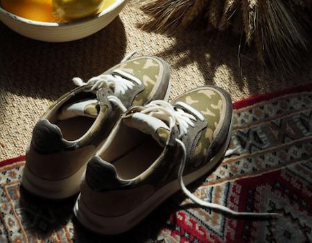 Sneakers Panafrica - Modèle Arusha - Marque française