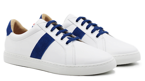 Sneakers blanches made in France - Marque Jules et Jenn