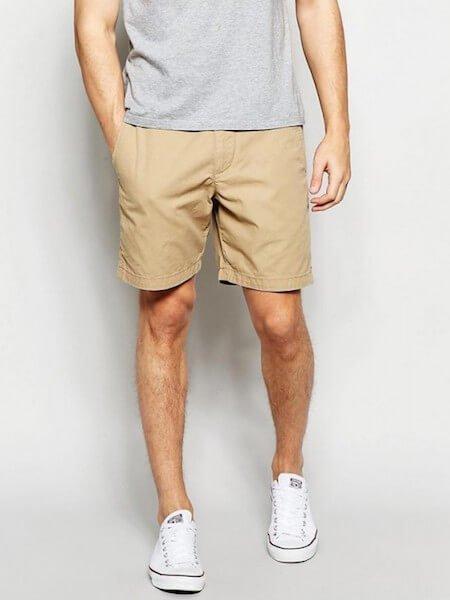 Short beige pour homme - Style homewear et loungewear
