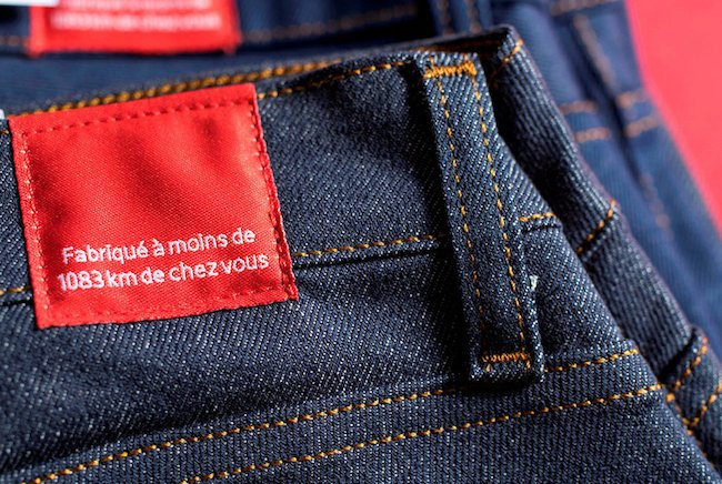 Jean made in France de la marque 1083