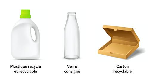 Packaging de lessive écologique