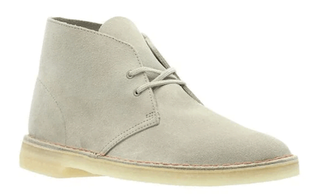 Desert boot beige de la marque Clarks