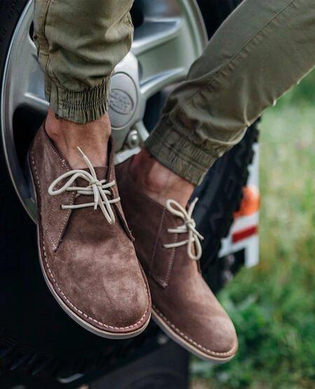 Desert boots pour homme - Marque Veldskoen