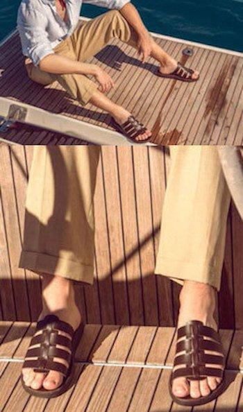 Sandales d'été pour homme