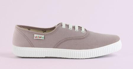 Sneaker en toile grise pour homme - Marque Victoria