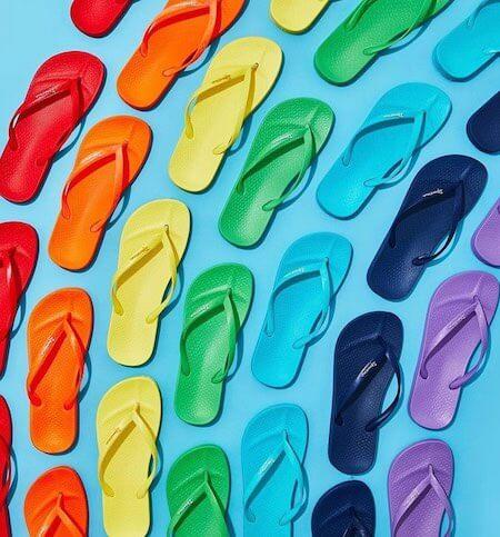 Tongs homme de couleurs Ipanema