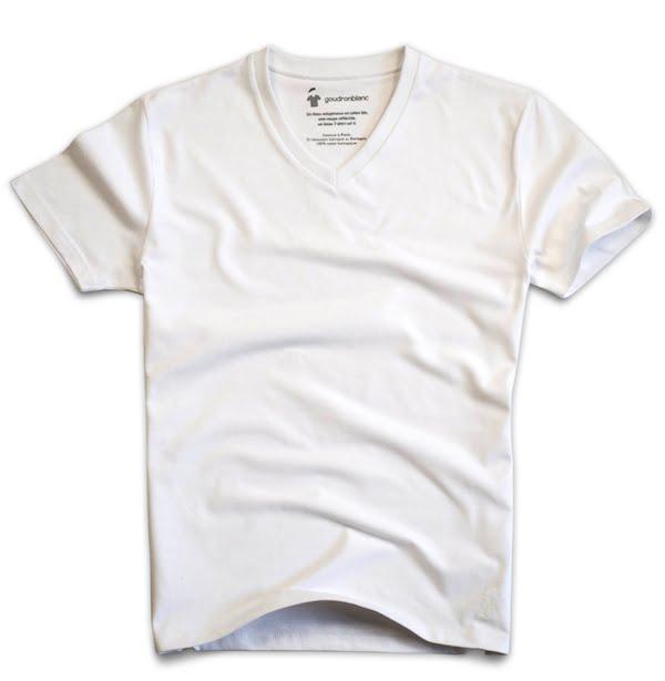 t-shirt-col-v-blanc-homme