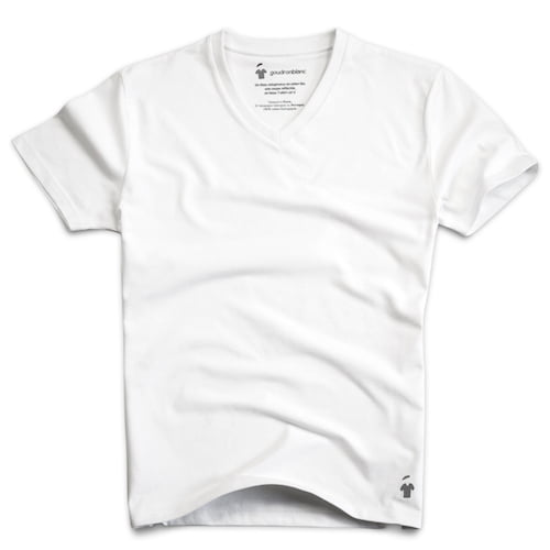 d1793377c99 High Quality Crew Neck and V-neck T-shirt for Men - GoudronBlanc