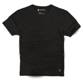 t-shirt-noir-carbone-col-rond-homme