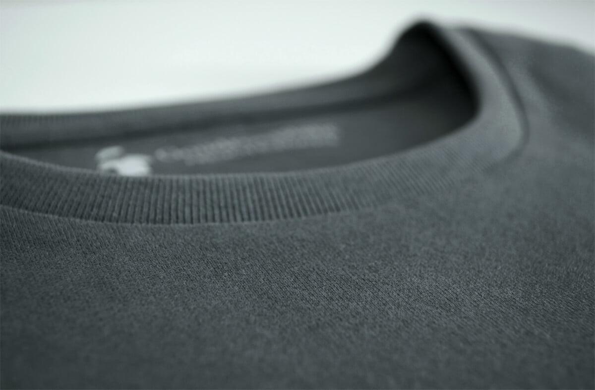 T-shirt gris pour homme - GoudronBlanc