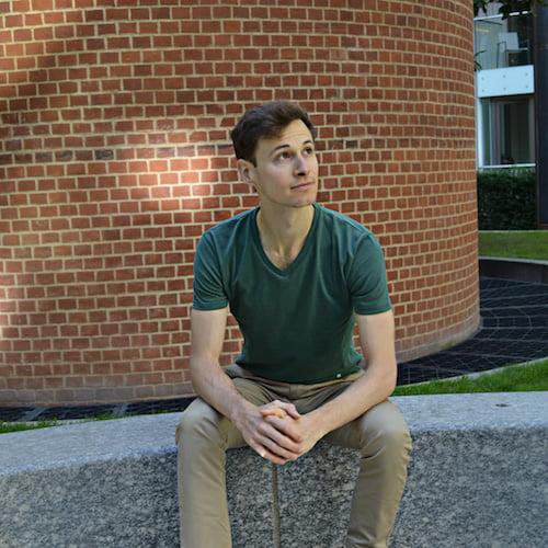 T-shirt vert - Guerric de Ternay