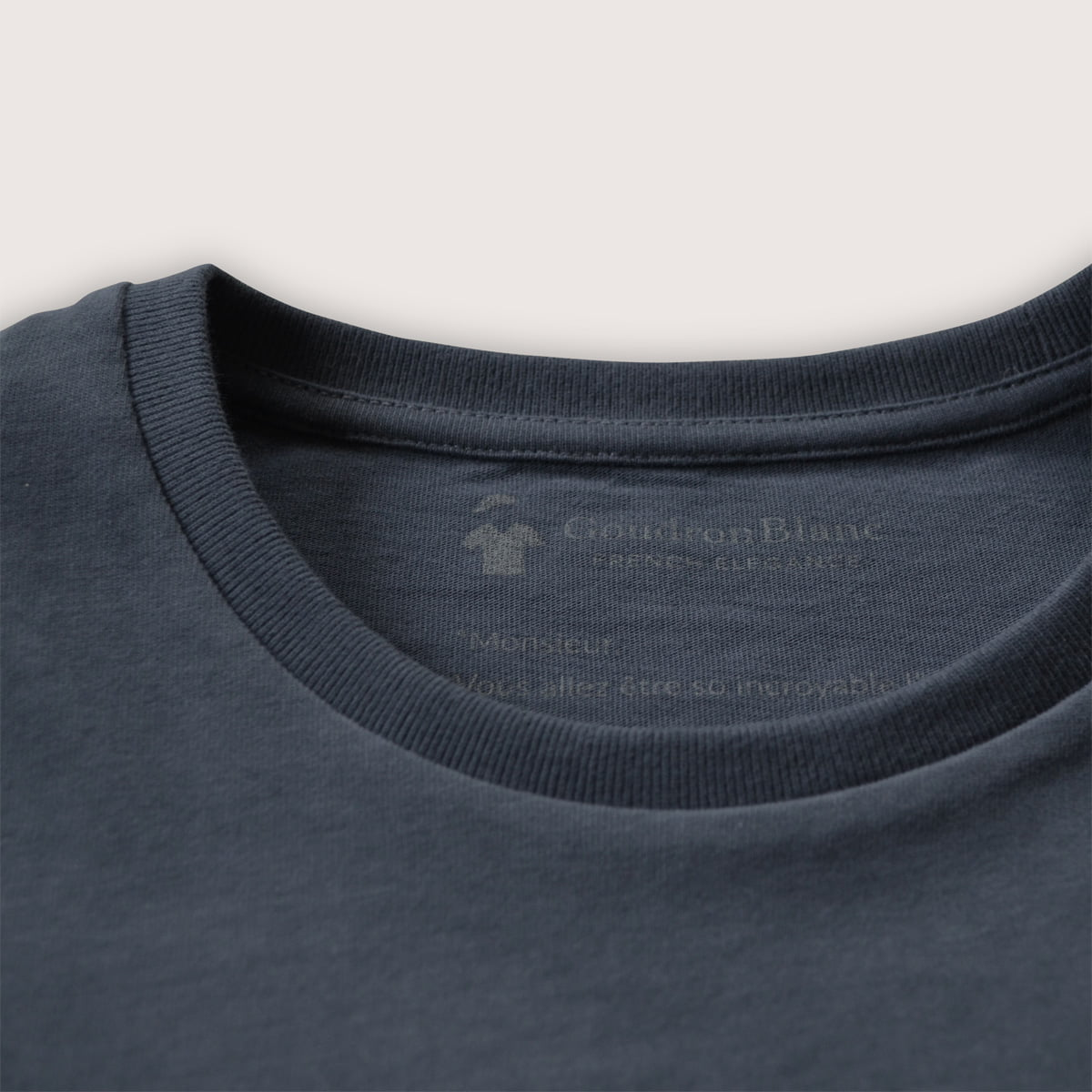 e7a938fad Long sleeve T-shirt for Men - High quality - GoudronBlanc