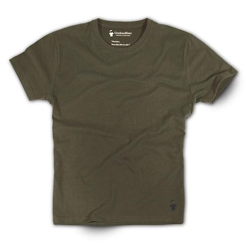 T-shirt kaki pour homme