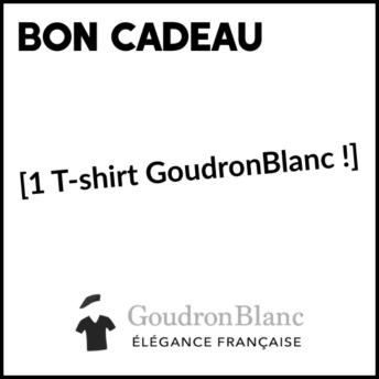 Bon cadeau GoudronBlanc