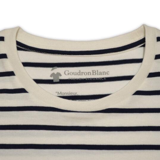 Col rond - T-shirt marinière pour homme