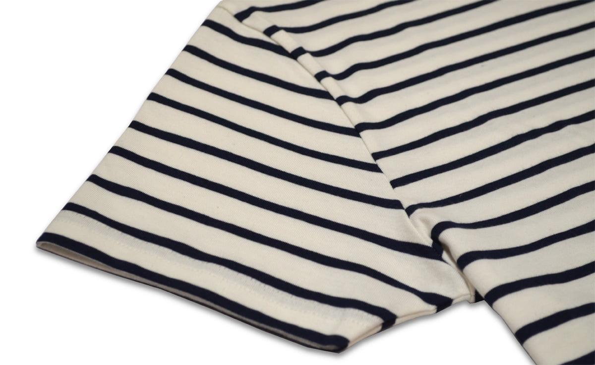 Manche courte - T-shirt marinière
