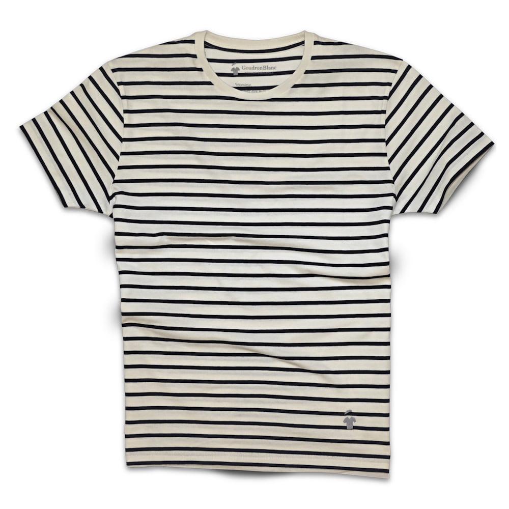 t shirt breton homme