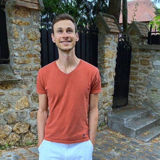 T-shirt rouille pour homme - GoudronBlanc