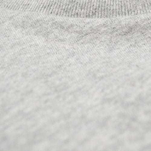 Tissu épais gris chiné - GoudronBlanc