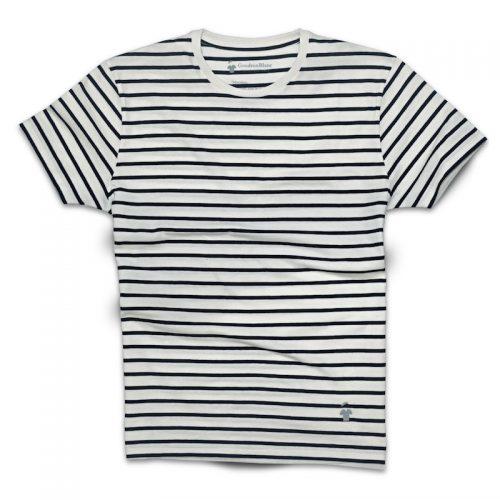 T-shirt marinière pour homme - GoudronBlanc